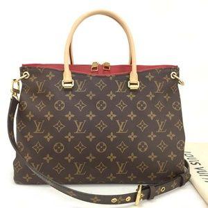 💯 Auth Louis Vuitton Pallas New 2017 Hand Bag